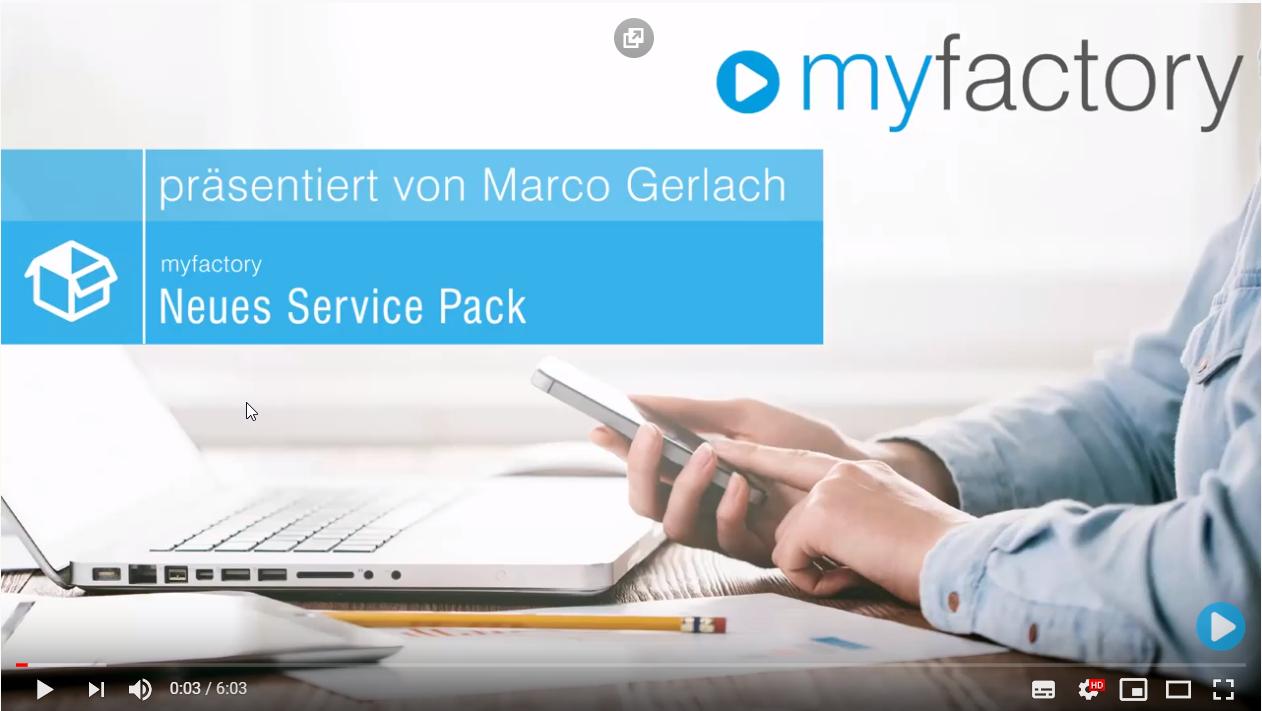 myfactory 7.0 Servicepack 218