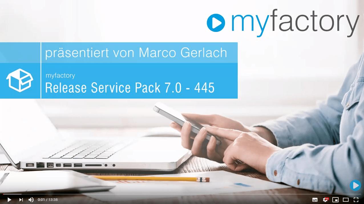 myfactory 7.0 ServicePack 445