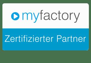 myfactory zertifizierter Partner
